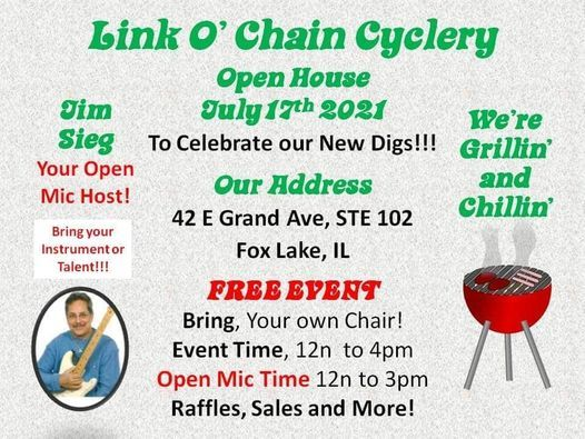 Grand Open House BBQ and Open Mic, 17 July | Event in Fox Lake | AllEvents.in