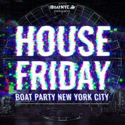 THE 1 EDM BOAT PARTY Presents HOUSE Music BOAT