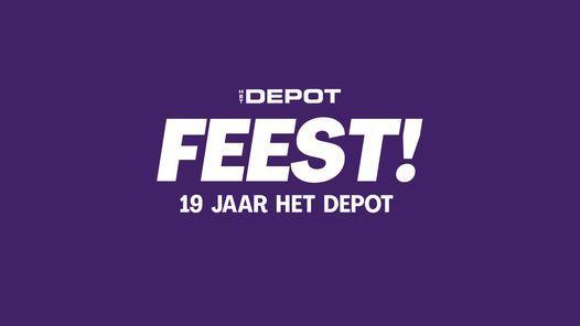 FEEST // 18 jaar Het Depot (nieuwe datum), 17 December | Event in Leuven | AllEvents.in