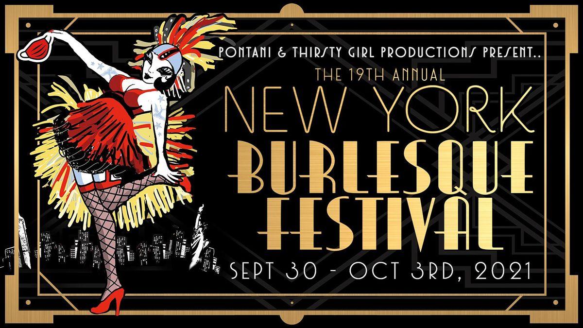 The New York Burlesque Festival's Golden Pastie Awards, 3 October | Event in New York | AllEvents.in