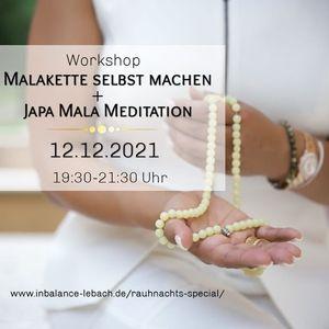 4. Workshop eigene Malakette herstellen  Japa Mala Meditation