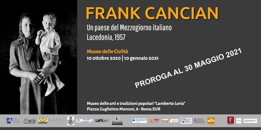 FRANK CANCIAN. Un paese del Mezzogiorno italiano. Lacedonia, 1957 | Event in Frascati | AllEvents.in
