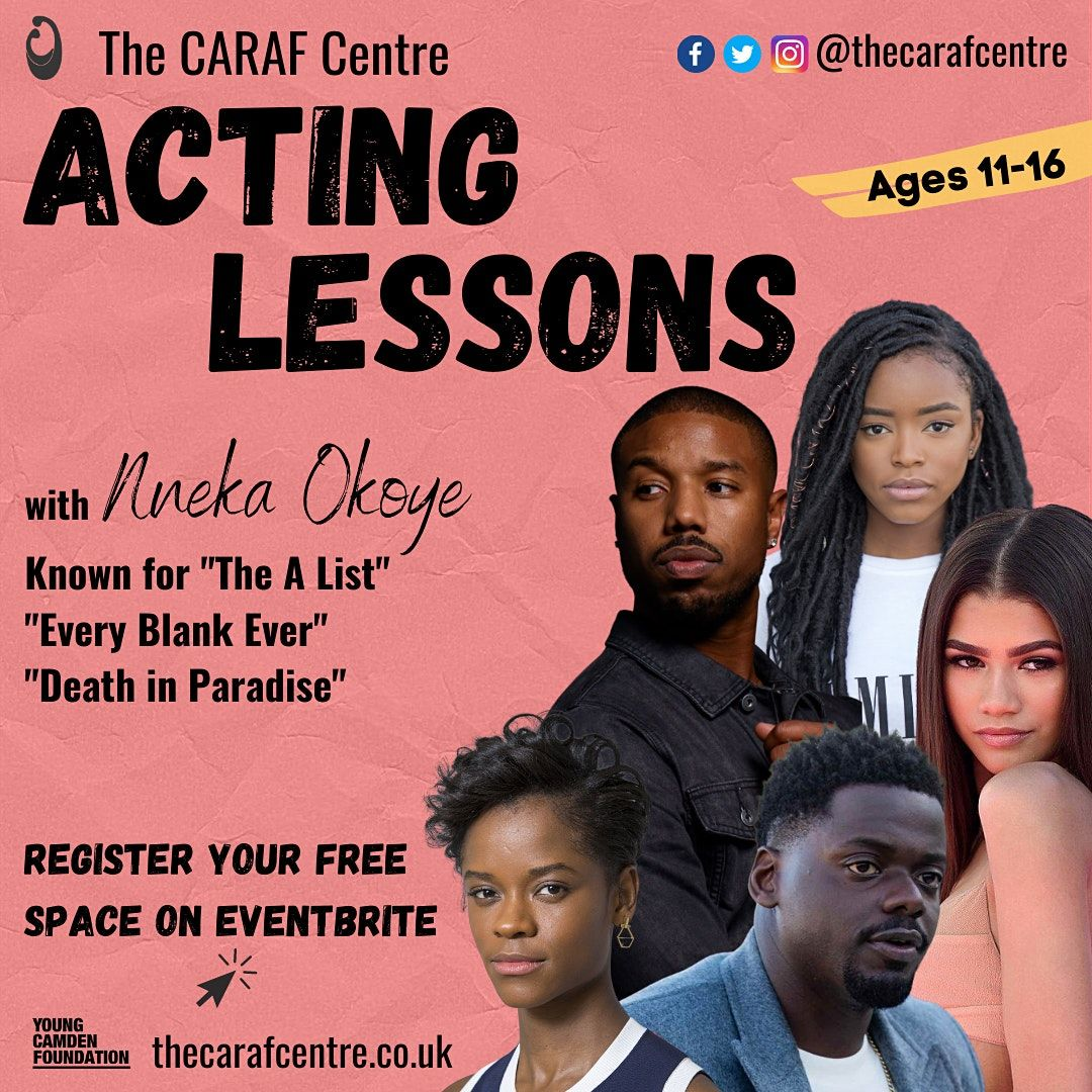 Acting lessons for young people aged 15-16 | Online Event | AllEvents.in