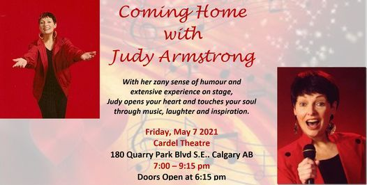 Coming Home - A Concert with Judy Armstrong  Postponed, 7 May | Event in Calgary | AllEvents.in