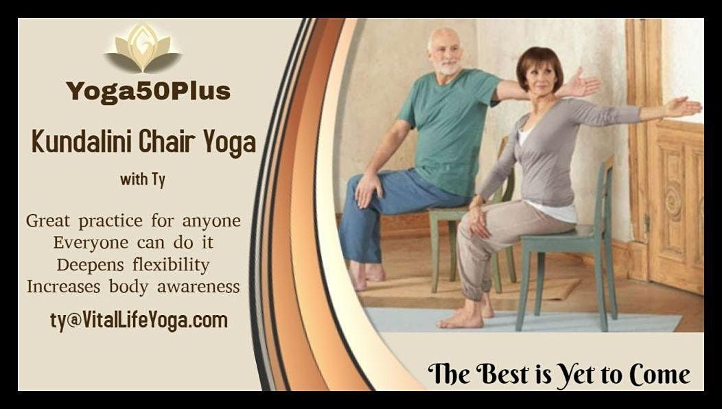 Accessible Yoga (chair or mat) | Online Event | AllEvents.in