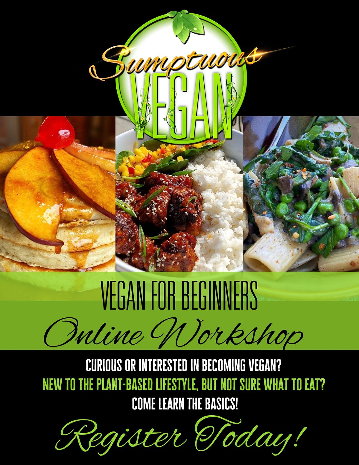 Vegan For Beginners | Online Event | AllEvents.in