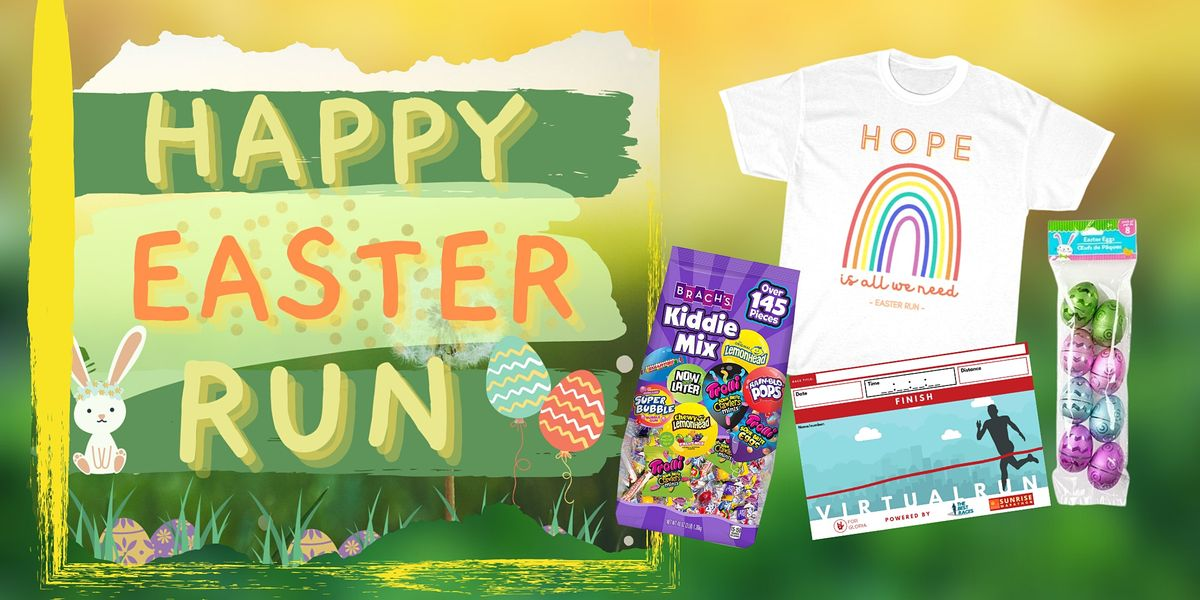Easter Run Virtual, 4 April | Online Event | AllEvents.in