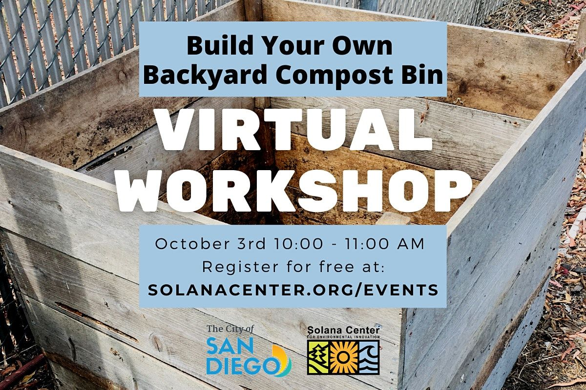Free Webinar Build Your Own Backyard Compost Bin Webinar On Allevents In Online Events