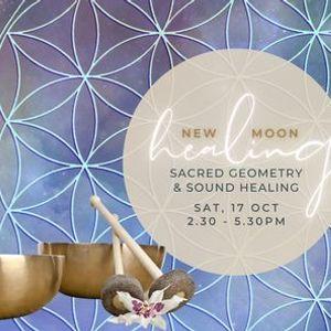 October New Moon Sound Healing