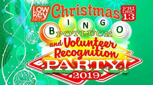 Christmas Bingo Potluck and Volunteer Recognition Party