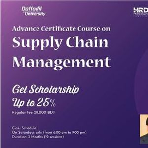 Advanced certificate course on Supply Chain Management