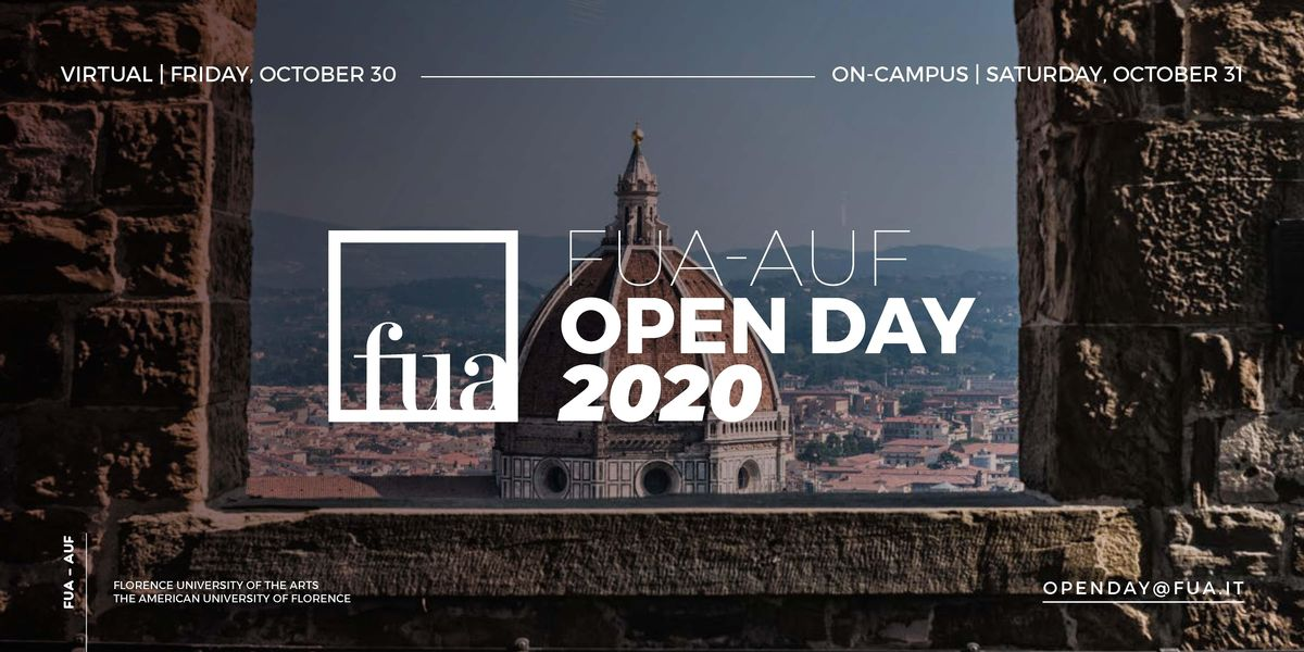 FUA-AUF ON-CAMPUS OPEN DAY | Event in Firenze | AllEvents.in