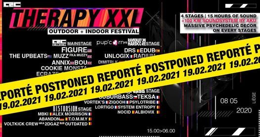 Chill2chill Therapy XXL 4 stages Outdoor&Indoor, 19 February   Event in Liege   AllEvents.in