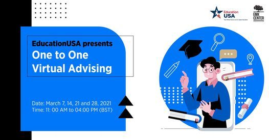 One to One Virtual Advising, 7 March | Event in Dhaka | AllEvents.in
