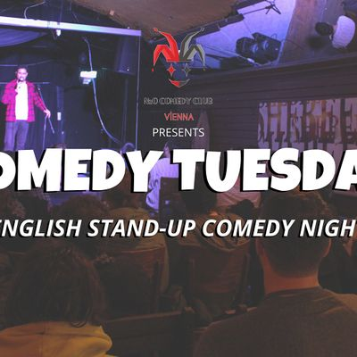Comedy Tuesday at Shebeen Intl. Pub (English Stand-Up Comedy Night)