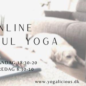 Live & Online Mindful Yoga med Mia - Fredage 830