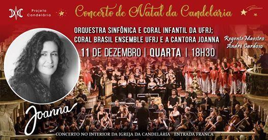 Concerto de Natal da Candelria  Participao da Joanna