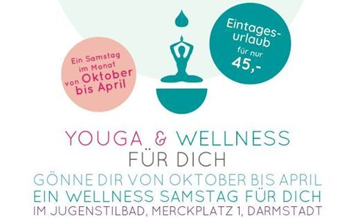 Eintagsurlaub Yoga & Wellness im Jugendstilbad Darmstadt