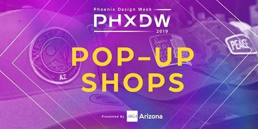 PHXDW 2019 Evolve Design Conference Pop-Up Shop