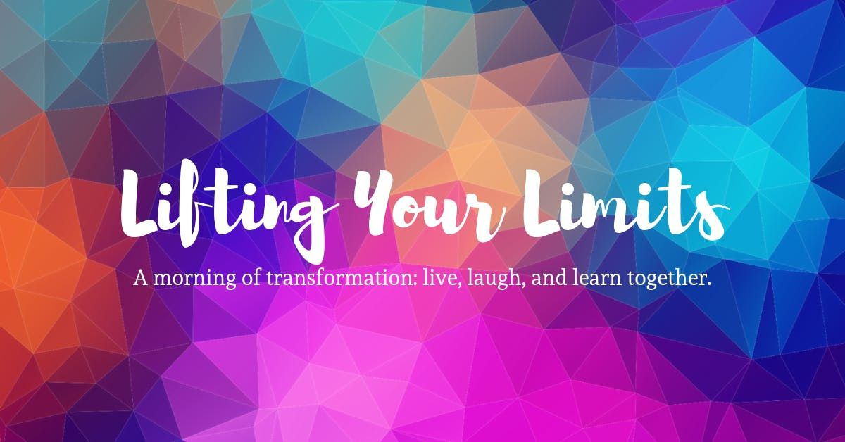 Lifting Your Limits Fall 2019 Series