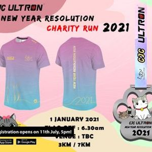 CJC Ultron New Year Resolution Charity Run 2021