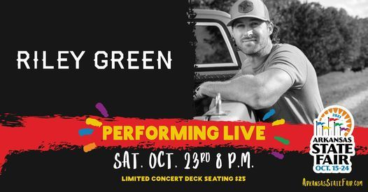 Riley Green LIVE!, 23 October | Event in Little Rock | AllEvents.in