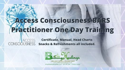 Access Bars Practitioner Training, 30 May | Event in Randburg | AllEvents.in