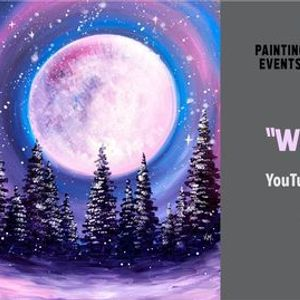 Winter Night - Free YouTube Live Paint Night