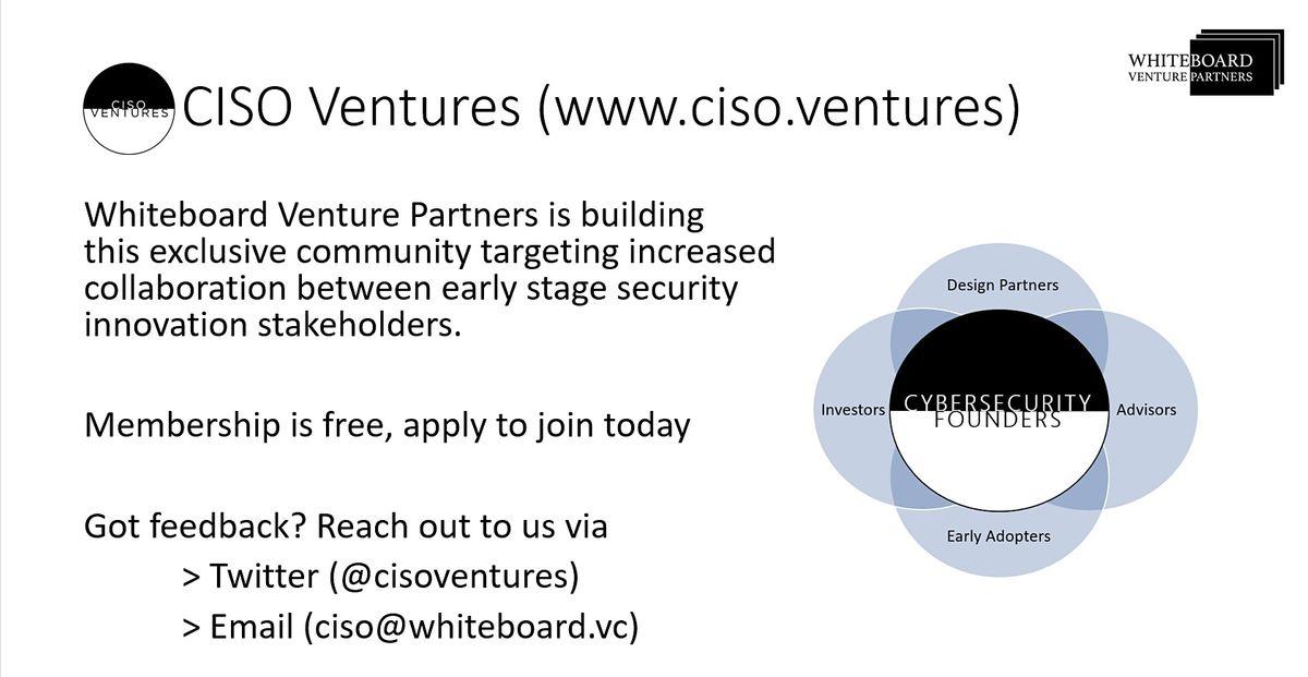 CISO Ventures Panel Denver 2020