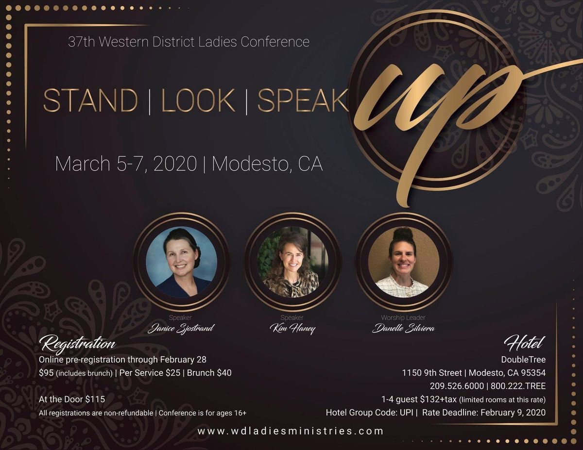 Western District Ladies Conference at DoubleTree by Hilton
