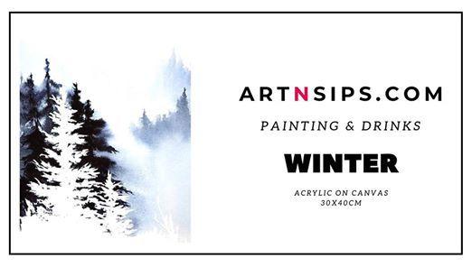 ARTNSIPS Social Painting & Drinks  Cafe Cadeau