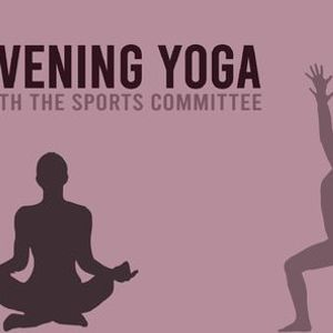 Yoga med IdrU  Yoga with The Sports Committee