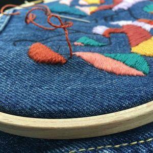 workshop borduren op kleding