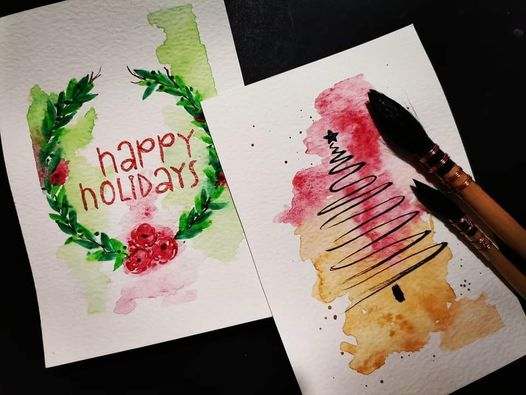 Handmade watercolour gift cards and tags, 27 November   Event in Durban   AllEvents.in