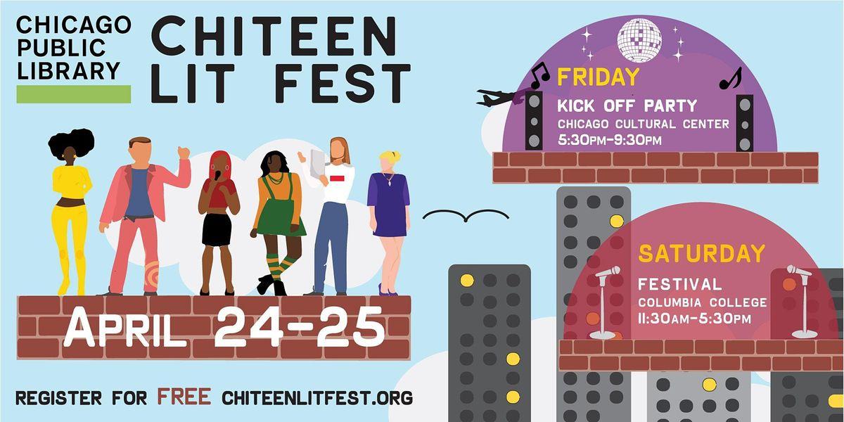 2020 ChiTeen Lit Fest April 24-25