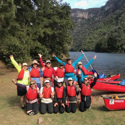 Womens Overnight Canoe Trip Shoalhaven Gorge  2nd-3rd May 2020
