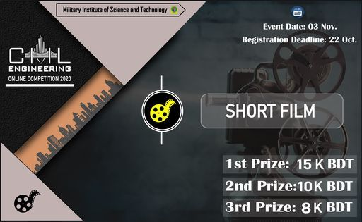 CE Online Competition (Short Film), 3 November | Online Event | AllEvents.in
