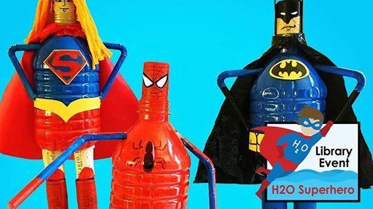 H2O Superhero Recycle Craft