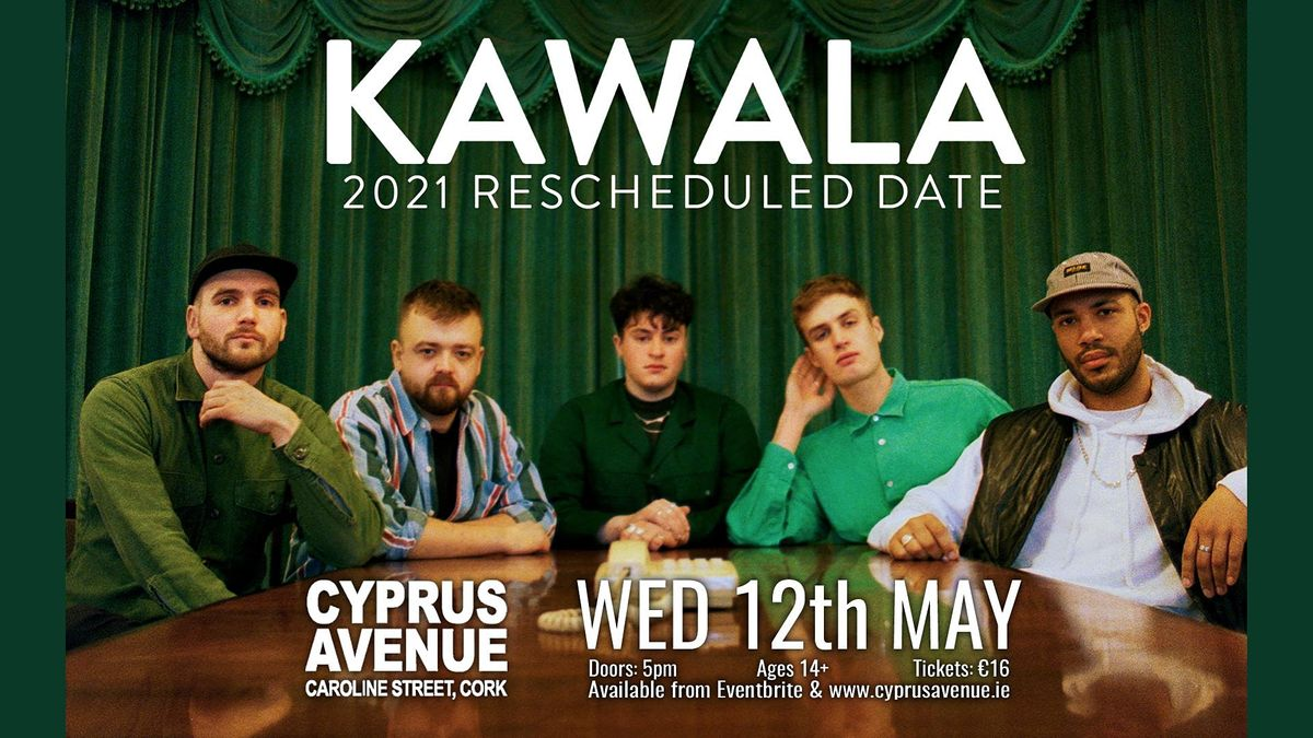 Kawala, 12 May | Event in Cork | AllEvents.in