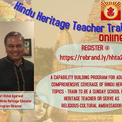 Hindu Heritage Teacher Training 2021 (Online)