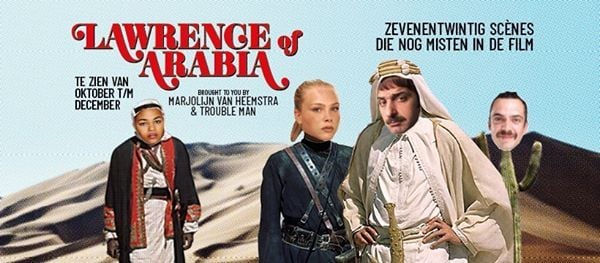 Lawrence of Arabia - van Heemstra  Trouble Man  Krmzyz
