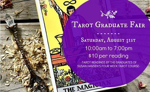 Tarot Graduate Psychic Fair at Madame Meerkat's Cabinet of