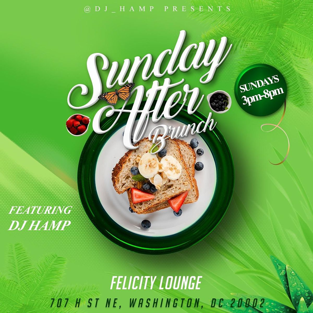 SUNDAY AFTER BRUNCH HAPPY HOUR With @DJ_Hamp!: FATHERS DAY EDITION! | Event in Washington | AllEvents.in