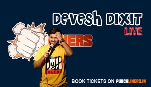 Punchliners Comedy Show ft Devesh Dixit in Indore, 16 May | Event in Indore | AllEvents.in
