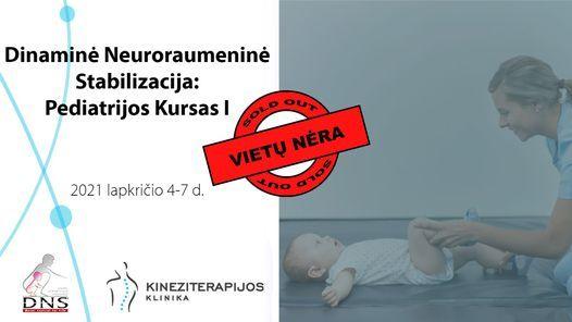 Dinaminė Neuroraumeninė Stabilizacija (DNS): Pediatrinis kursas I, 4 November | Event in Kaunas | AllEvents.in