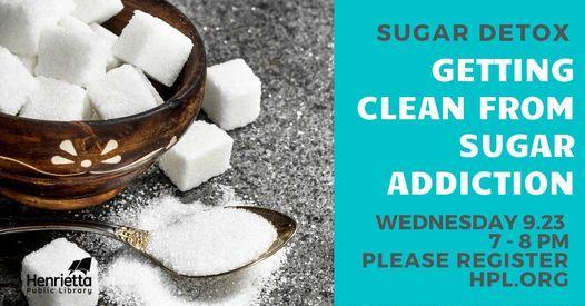 Sugar Detox Getting Clean from Sugar Addiction