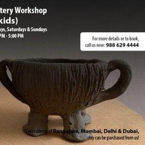 Online Pottery Workshop for Kids