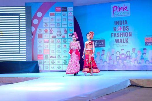 India Kids Fashion Walk - Go Virtual
