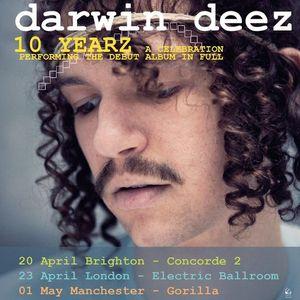 Darwin Deez - live at Concorde 2