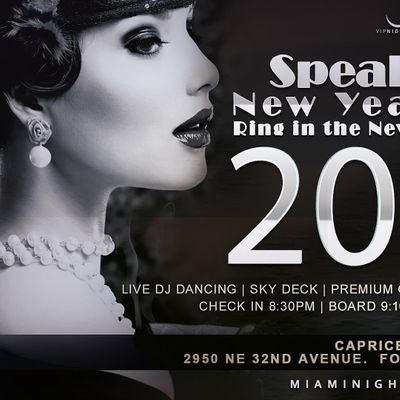Speakeasy Fort Lauderdale New Years Eve Party Cruise 2022